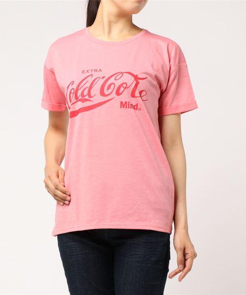【six mouse】コールドコア袖ロールアップTシャツ
