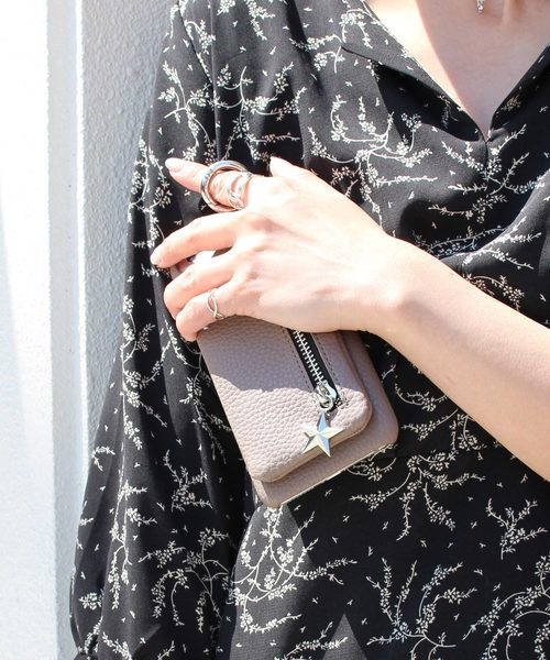 8a4135825a kajsa(カイサ)の〈Kajsa/カイサ〉Detachable Zipper Bag iPhone 6/