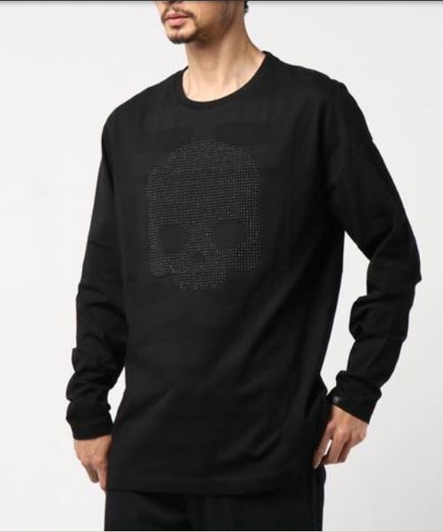 激安商品 ≪ TEE HYDROGEN スカル Tシャツ/ハイドロゲン≫ スタッズ ハイドロゲン スカル Tシャツ LS HYDRGN/STUDS HYDRGN SKULL TEE LS(Tシャツ/カットソー) HYDROGEN(ハイドロゲン)のファッション通販, モロツカソン:23b70639 --- pyme.pe