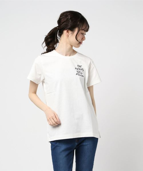 OUTDOOR PRODUCTS×ZERO STAIN メッセーシプリンドTシャツ