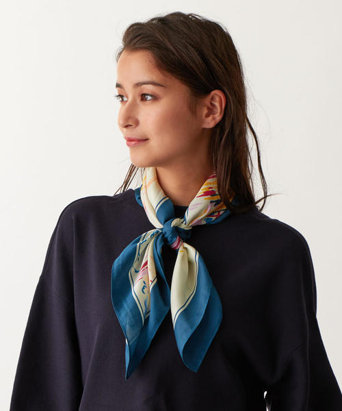 SMF Yacht pattern スカーフ
