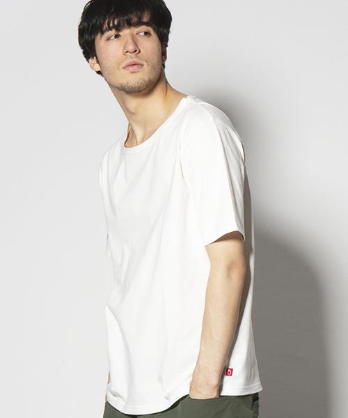 VIRGOwearworks(ヴァルゴウェアワークス)の「PERFECTION HIDDEN V TEE(Tシャツ/カットソー)」 ホワイト