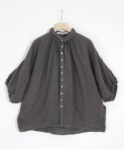【驚きの値段】 [Brocante/ ブロカント] ブロカント] リネンストライプ グランシャツ(シャツ//ブラウス)|Brocante(ブロカント)のファッション通販, ROZEBE:2e4e2f64 --- steuergraefe.de