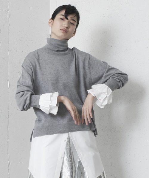 独特な店 HIGH NECK NECK SWEATER/ハイネックセーター(ニット/セーター)|mintdesigns(ミントデザインズ)のファッション通販, キャバ:4c414bb3 --- arguciaweb.com