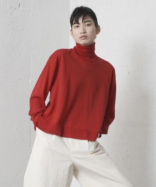 大勧め HIGH NECK SWEATER NECK/ハイネックセーター(ニット/セーター)|mintdesigns(ミントデザインズ)のファッション通販, 豆板の和平:8036a557 --- arguciaweb.com