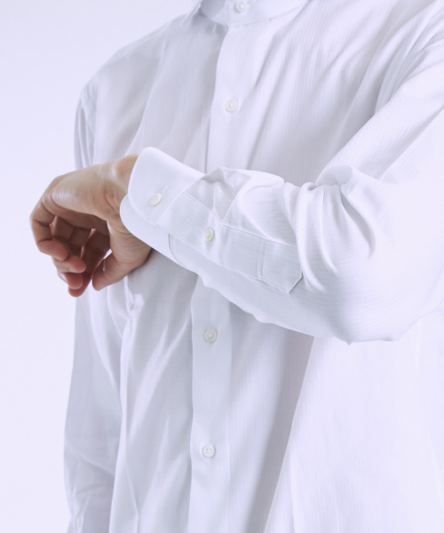 ヘリンボンシャツ