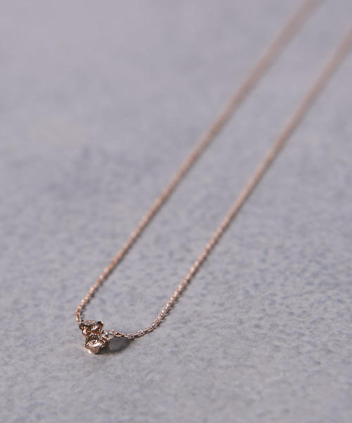 <BROWN DIAMOND(ブラウン ダイヤモンド)> PETIT 001 ネックレス■■■▲