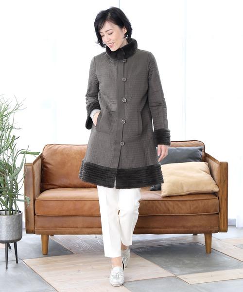 信頼 sankyoラビットファーコート(その他アウター)|sankyo shokai(サンキョウショウカイ)のファッション通販, トカシキソン:ecf06ce3 --- dpu.kalbarprov.go.id