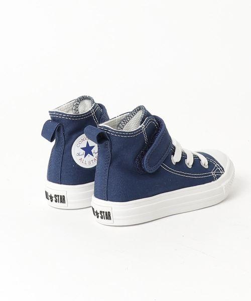 CONVERSE CHILD ALL STAR LIGHT V-1 HI (ネイビー)