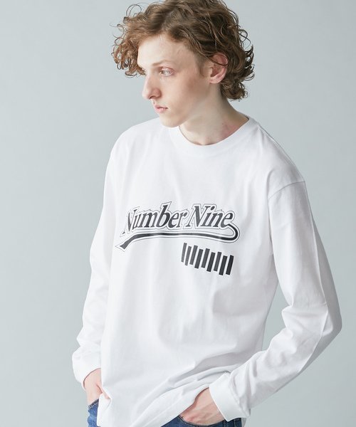 【NUMBER (N)INE】《WEB限定》グラフィティビッグシルエットロングTシャツ