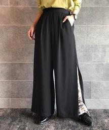 PAGEBOY(ページボーイ)の裾レイヤードパンツ(パンツ)
