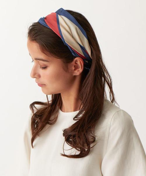 SMF color block スカーフ