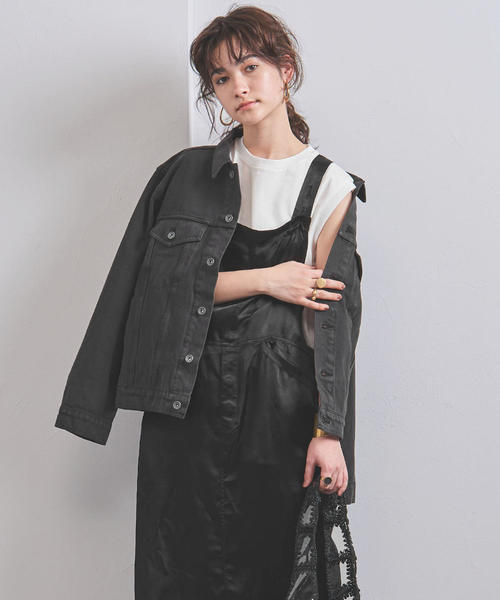 <YANUK(ヤヌーク)>AYA KANEKO×YANUK ビッグ デニムジャケット
