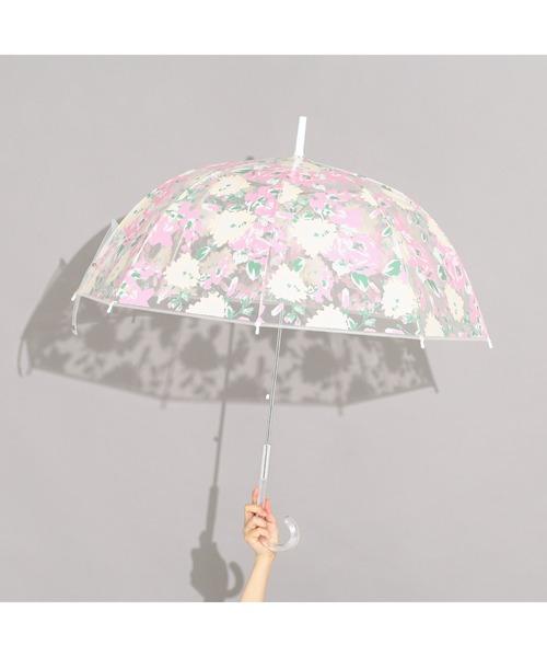 Francfranc(フランフラン)の「プリュイ ビニール傘 ビックフラワー 58cm(長傘)」|マルチ