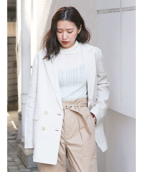 2019春大特価セール! リネン混ルーズジャケット(テーラードジャケット)|Ungrid(アングリッド)のファッション通販, リライアブルプラス1:4b6b6290 --- wiratourjogja.com
