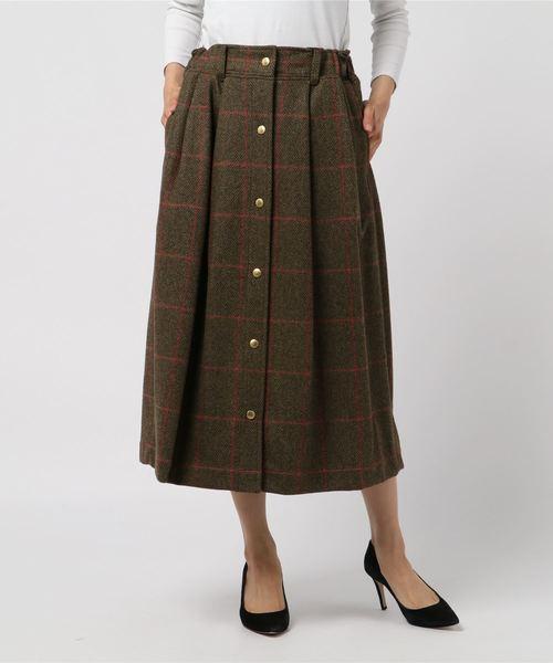 大量入荷 Traditional Weatherwear: チェック スカート, ファビュラス モダーンズ 5ff132bd