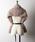 la belle Etude(ラベルエチュード)の「【LA BELLE ETUDE】ベルト付きフェイクチベットラムファーショール(マフラー/ショール)」|詳細画像