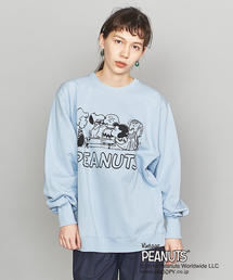<VOTE MAKE NEW CLOTHES>PEANUTS ロングスリーブスウェット
