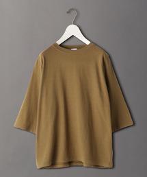 <6(ROKU)>FASTENER SHORT SLEEVE T-SHRT/Tシャツ