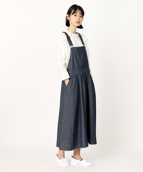 ∴【ubasoku / ウバソク】裏付 ジャンパースカート ub-0075 BNT