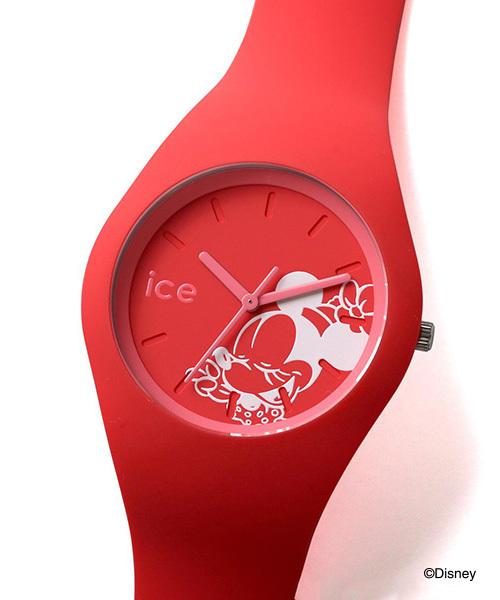 ICE WATCH(アイスウォッチ)の「「Ice-Watch/アイスウォッチ」 ディズニーコレクション singing(アナログ腕時計)」|レッド