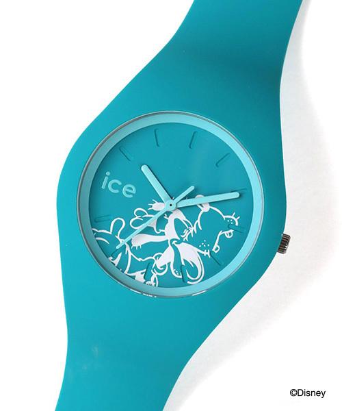 ICE WATCH(アイスウォッチ)の「「Ice-Watch/アイスウォッチ」 ディズニーコレクション singing(アナログ腕時計)」|ターコイズブルー