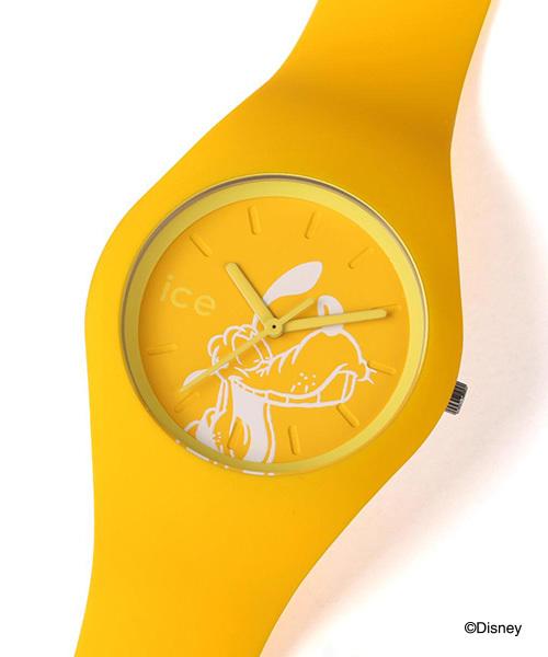 ICE WATCH(アイスウォッチ)の「「Ice-Watch/アイスウォッチ」 ディズニーコレクション singing(アナログ腕時計)」|イエロー
