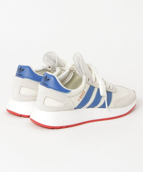 adidas Originals INIKI RUNNER (オフホワイト/ブルー/コアレッド S17)