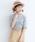 merlot(メルロー)の「メローエッジカットソー1417(Tシャツ/カットソー)」|グレー