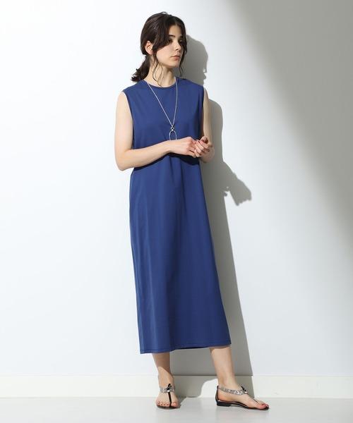 超格安一点 ATON/ スビン ノースリーブドレス(ワンピース)/ スビン Demi-Luxe Demi-Luxe BEAMS(デミルクス ビームス)のファッション通販, 印旛郡:a54f2cfc --- wiratourjogja.com