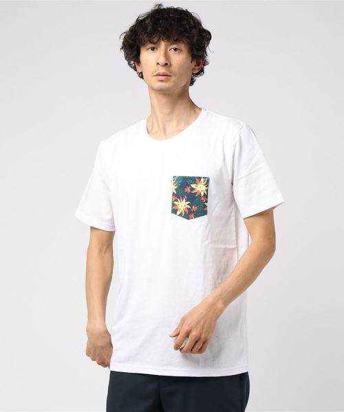 OUTDOOR PRODUCTS×ZERO STAIN 別布ポケットT
