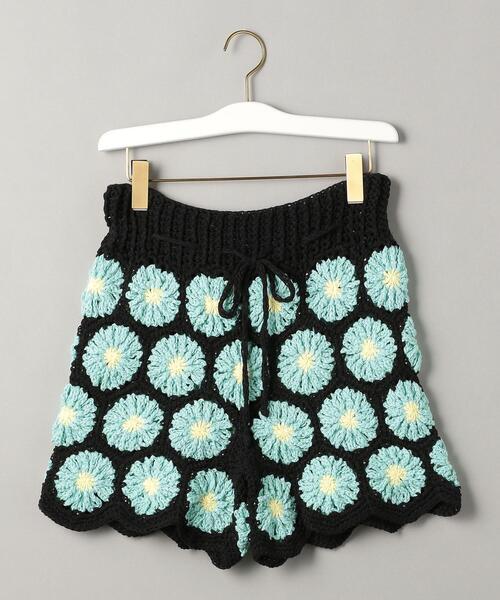 <Tach clothing>クロシェレース ショートパンツ