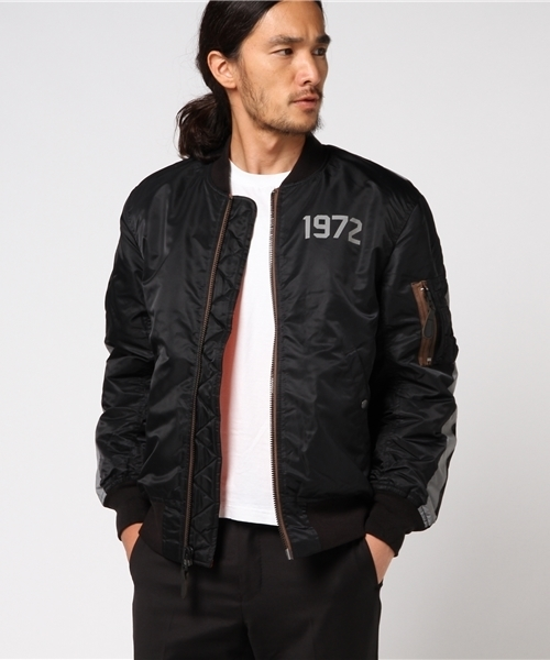 【初売り】 【セール】HOUSTON/ LOGO HOUSTON LOGO MA-1 MA-1 (REFLECT)(MA-1) HOUSTON|HOUSTON(ヒューストン)のファッション通販, カオン:0d988f66 --- wm2018-infos.de