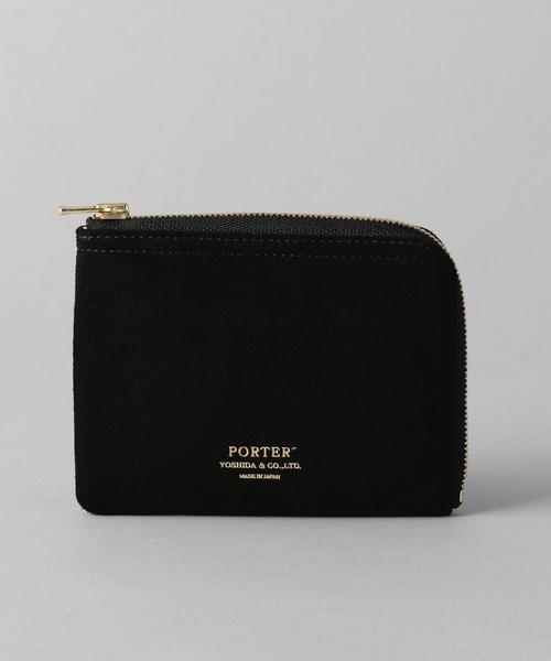 【別注】 <PORTER(ポーター)> DOUBLE L-ZIP WALLET/財布
