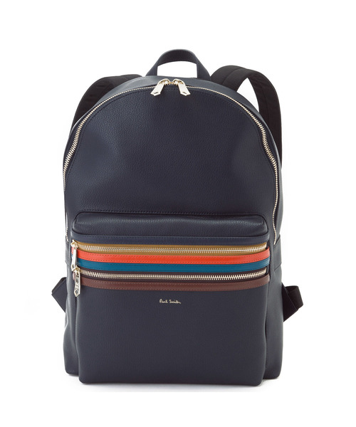 83428ef4620f Paul Smith(ポール・スミス)のSIGNATURE ZIP STRIPE BACK PACK / 873281 N484