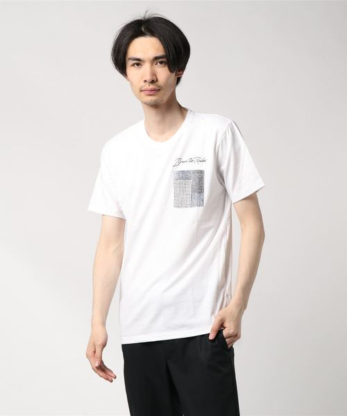 OUTDOOR PRODUCTS×ZERO STAIN デザインポケットT