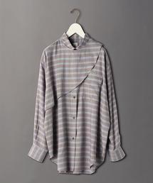 <6(ROKU)>CHECK SHIRT/シャツ