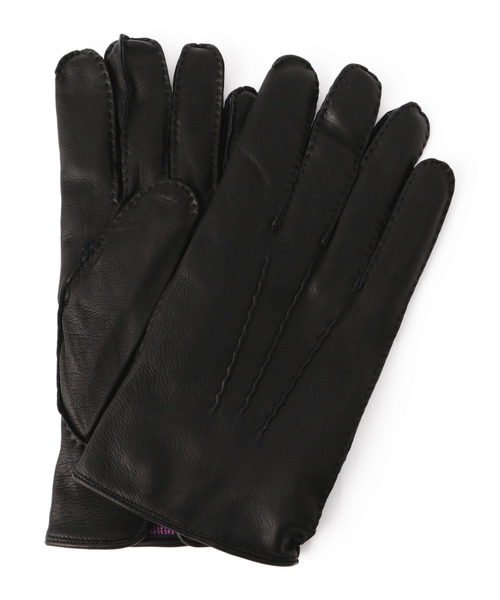DENTS(デンツ)の「DENTS / ヘアシープカシミアライニンググローブ(手袋)」 ブラック