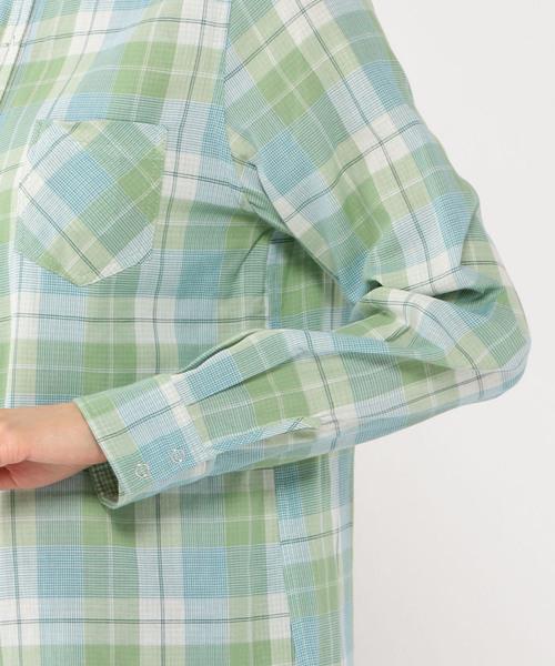 リバーシブルチェックシャツ