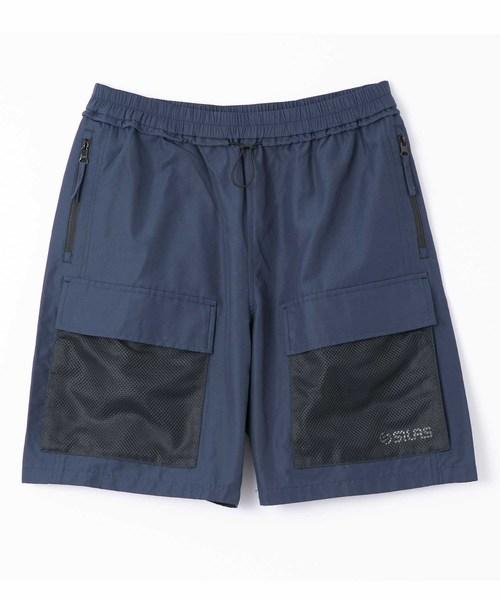 SILAS(サイラス)の「MESHPOCKET SHORT PANTS(その他パンツ)」 ネイビー