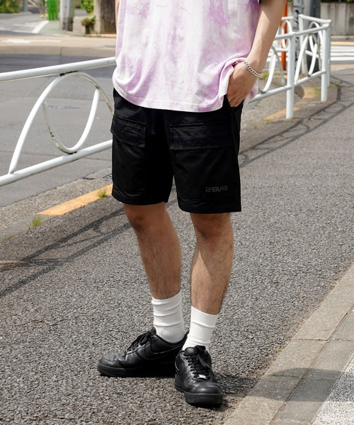 SILAS(サイラス)の「MESHPOCKET SHORT PANTS(その他パンツ)」 ブラック