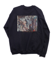And A(アンドエー)のAnd A x 藤森詔子 My sparkling  downtown CREW NECK クルーネックスウェット トレーナー(スウェット)