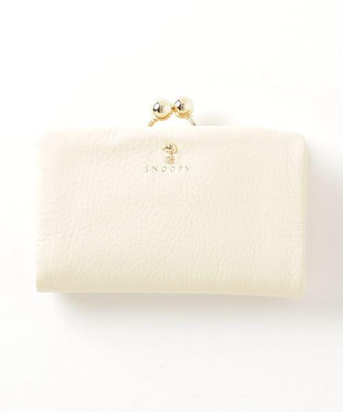 PEANUTS /スヌーピー/がま口二つ折り財布