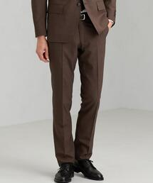 [ ドラゴ ] DRAGO ガンクラブ スリム ノープリーツ スーツ パンツ スラックス