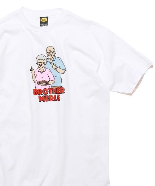 BROTHER MERLE/ブラザーマール Betty&Norm S/S Tee 半袖Tシャツ
