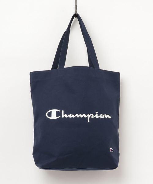 6c64567173a3 Champion(チャンピオン)の【CHAMPION/チャンピオン】CHボックストートバック/ロゴ