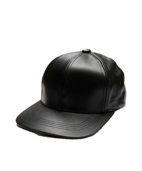 OHSUNG TRADING/O 산 트레이딩 LEATHER BB CAP