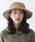 milsa(ミルサ)の「【milsa】 WASHED ADVENTURE HAT/【ミルサ】ウォッシュド アドベンチャー フェス ハット(ハット)」|ベージュ