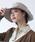 milsa(ミルサ)の「【milsa】 WASHED ADVENTURE HAT/【ミルサ】ウォッシュド アドベンチャー フェス ハット(ハット)」|グレー