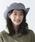 milsa(ミルサ)の「【milsa】 WASHED ADVENTURE HAT/【ミルサ】ウォッシュド アドベンチャー フェス ハット(ハット)」|ブルー